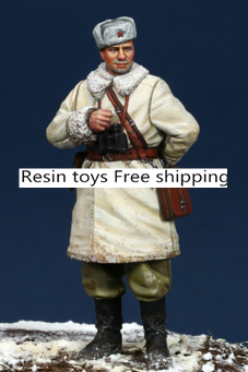 pre order-Resin toys 35090 WW2 Russian AFV Crew #1 Free shipping resin assembly kits 1 9 200mm police girl 200mm unpainted kit resin model free shipping