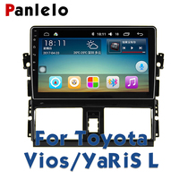 Panlelo For Toyota VIOS For Toyota YaRiS L Autoradio 2din Car Radio Multimedia 10.2 inch Video Player Navigation GPS Android