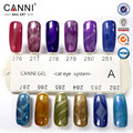 CANNI New Nail Gel 24 Color Magnetic 3D Cat Eyes Gel Nail Polish Colorful Long Lasting Soak Off LED UV Lacquer Varnish 7.3ml