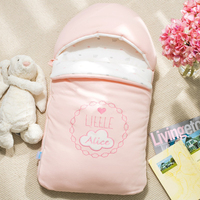 Baby schlafsack umschlag für neugeborene reiner baumwolle neugeborenes baby infant gewickelt kokon in winter kinderwagen tasche können sticken name Babyschlafsäcke    -