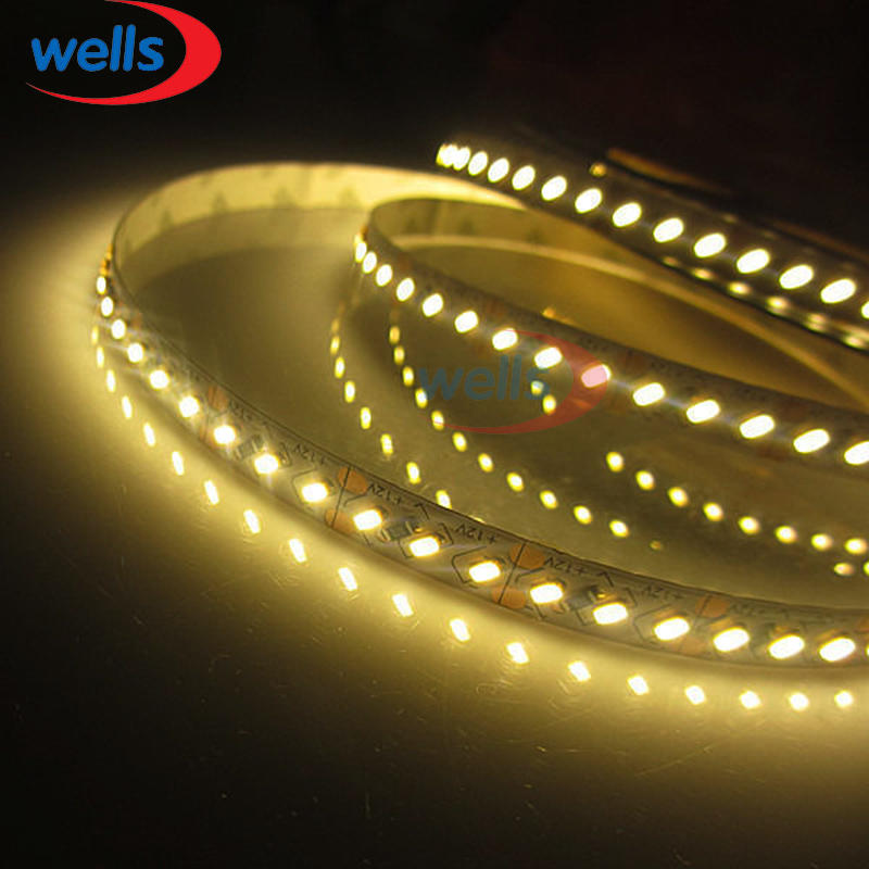 5M Superbright 8mm High Bright 3014 SMD 168leds / M Blanco / Blanco - Iluminación LED - foto 3