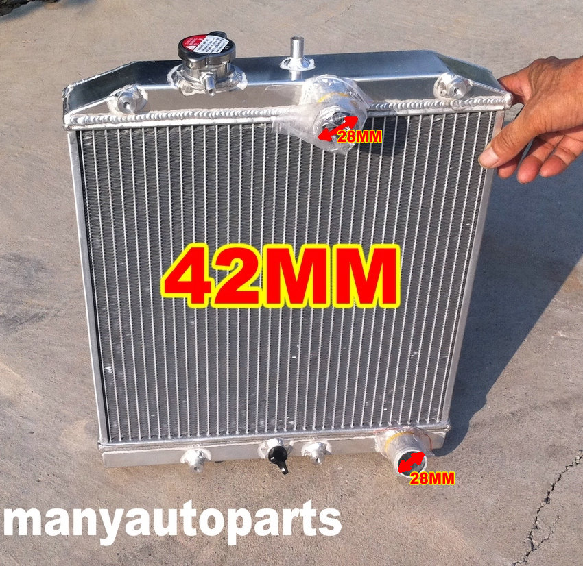 42MM RADIATOR FOR HONDA CIVIC SIR/II/TYPE-R/VTI B16 VTEC 92-00 93 94 95 96 97 98 99 00 28MM IN/OUT