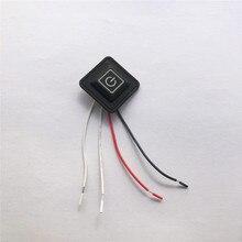 3,7~ 12V жилет с подогревом брюки перчатки электрический нагревательный пояс DIY контроллер температуры реstat переключатель силиконовый кнопочный переключатель
