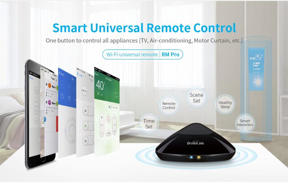 Broadlink RM3 RM Pro/RM mini3 Automatyki Inteligentnego Domu Uniwersalny Inteligentny Pilot WIFI + IR + RF Przełącznik dla iOS Android 13