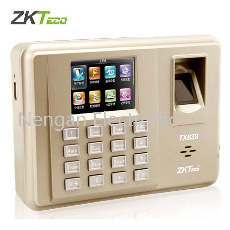 Zkteco TX638 tcp/ip WIFI 125 Khz EM carte et empreinte digitale temps de présence d'empreintes digitales horloge Terminal de présence des employés