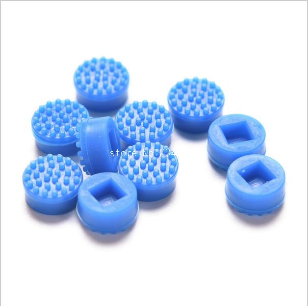 New 10x Laptop Notebook Trackpoint Pointer Mouse Blue Stick Point Cap For DELL Laptop Keyboard Trackpoint Little Dot Cap