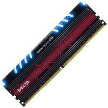 Team Glare series LED breathing light DDR4 2400 8G desktop memory