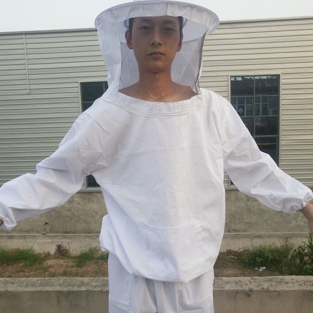 4PCS/SET Beekeeping Suit Tool Set Breathable White Beekeeping Jacket + Bee Brush + Lifter + Gloves Set Equipment prevalance of metabolic syndrome in baghdad