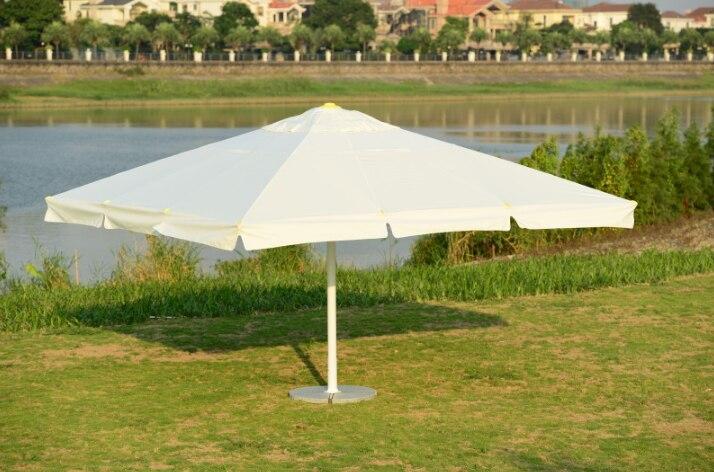 Large Outdoor Patio Umbrella Roman Empire Park Swimming Pool Radius