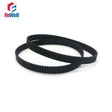 GT2 Timing Pulley Belt 2GT-300/302/308/320/336/348/350/360/376/386/390 Closed Loop Rubber Belt 6/10mm Width Gear Pulley Belt(China)