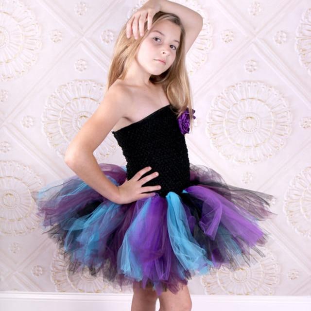 Peacock tutu dress colors that look