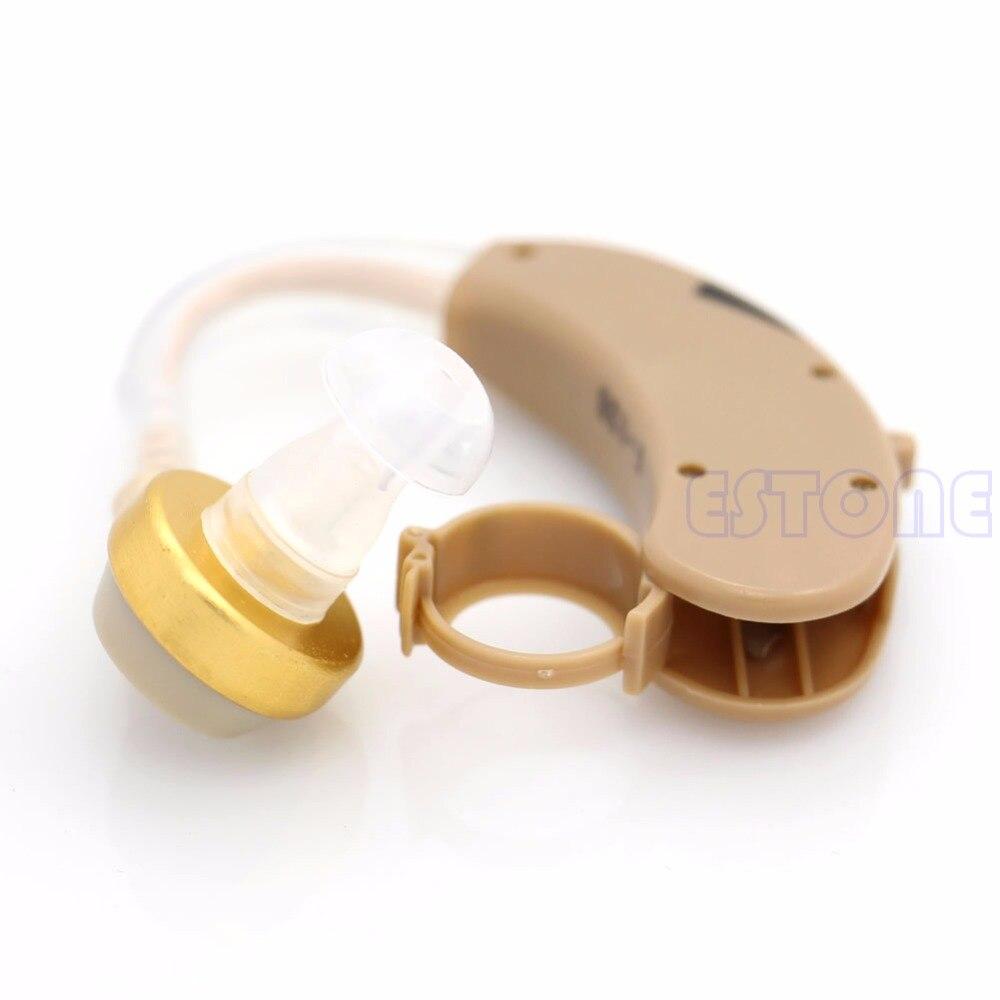 New Best Adjustable Digital Tone Hearing Aids Aid Behind Ear Sound Amplifier