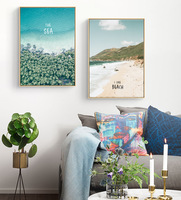 2019 Modern Nordic Watercolor Painted Canvas Art Wall Poster Pictures Kitchen/Home Decorative Paintings Free shipping