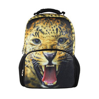 Designer Backpack Cat Owl Dragon Leopard Printing Backpack Mochila Women Feminina Bag Cute Animal Women Bag