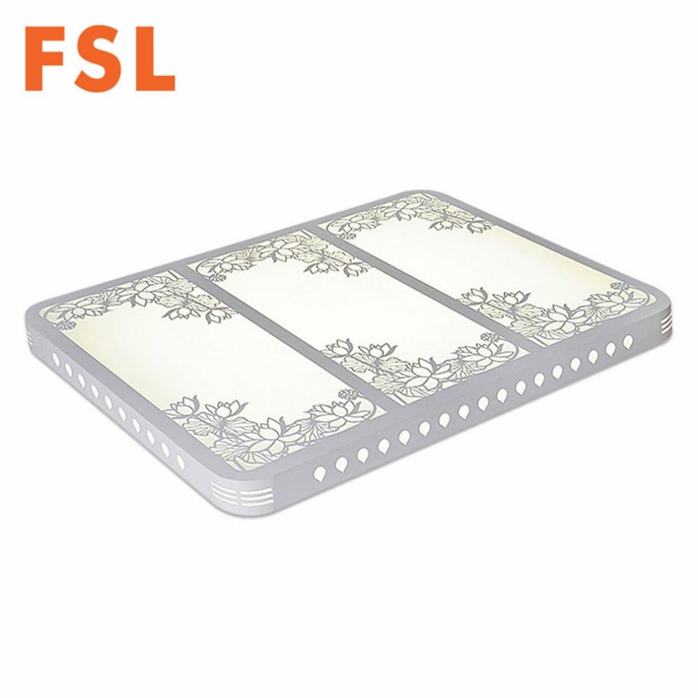 FSL LED ahueca hacia fuera el patrón de flor de talla Luz de techo - Iluminación interior