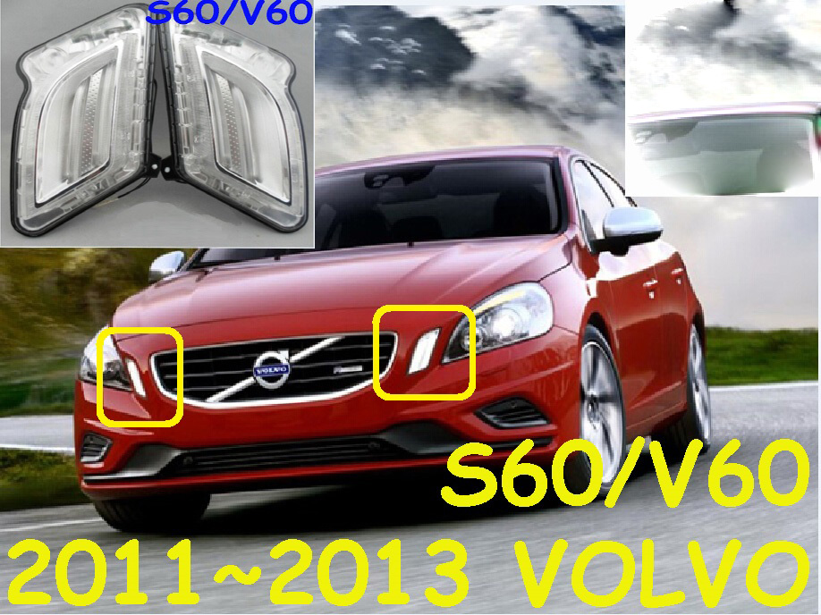 LED,2011~2013 Volv S60 V60 daytime Light,S60 V60 fog light,S60 V60 headlight,S60 V60 taillight цена