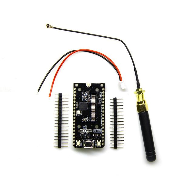 TTGO ESP32 SX1276 LoRa 868 / 915MHz Bluetooth WI-FI Lora Internet Antenna Development Board for Arduino