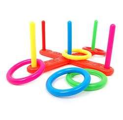Детские игрушки кольца кольцо бросить Пластик кольцо бросить Quoits сад игровой бассейн игрушки Fun набор для детей игрушки 2sw0809