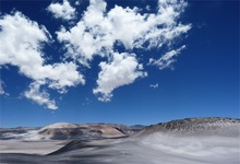 Laeacco Cloudy Blue Sky Wild Land Photography Backgrounds Customized Photographic Backdrops For Photo Studio