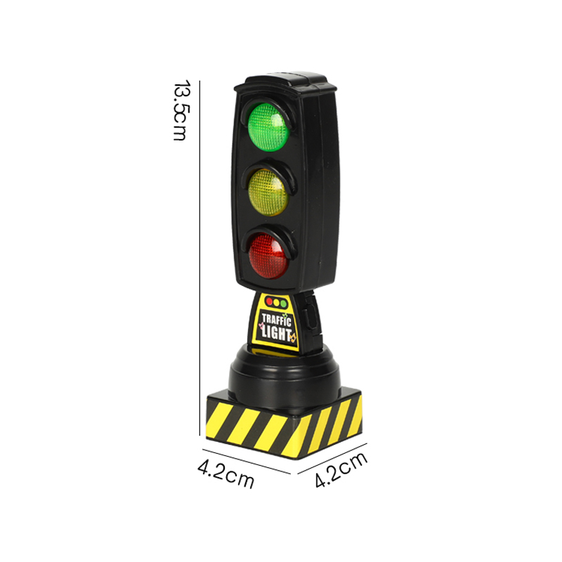 Singing traffic light toy traffic signal model road sign Suitable for BRIO train children track series toy accessoriesSinging traffic light toy traffic signal model road sign Suitable for BRIO train children track series toy accessories