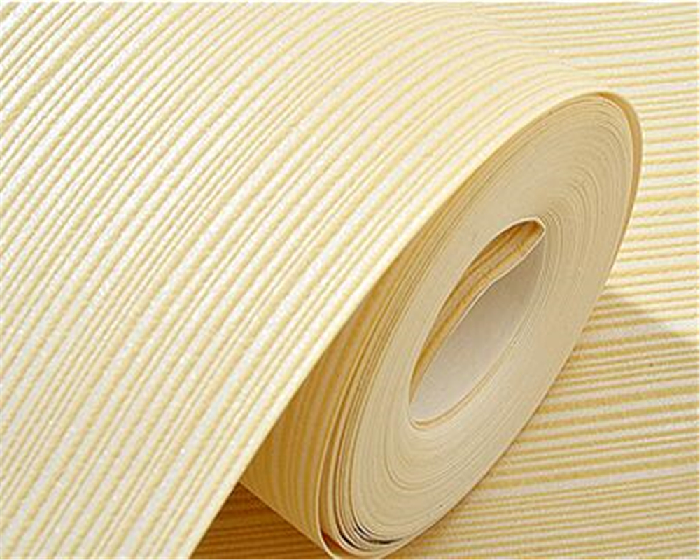 Us 30 17 29 Off Beibehang Modern Solid Color Wallpaper Stripes Yellow Brown White Striped Roll Home Living Room Decoration In