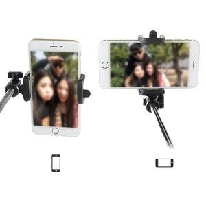 Image 4 - Extendable Selfie Stick Monopod for Iphone Samsung Android IOS Handheld Camera Fold Holder Mini Palo Selfie Tripod 27.5cm 80cm