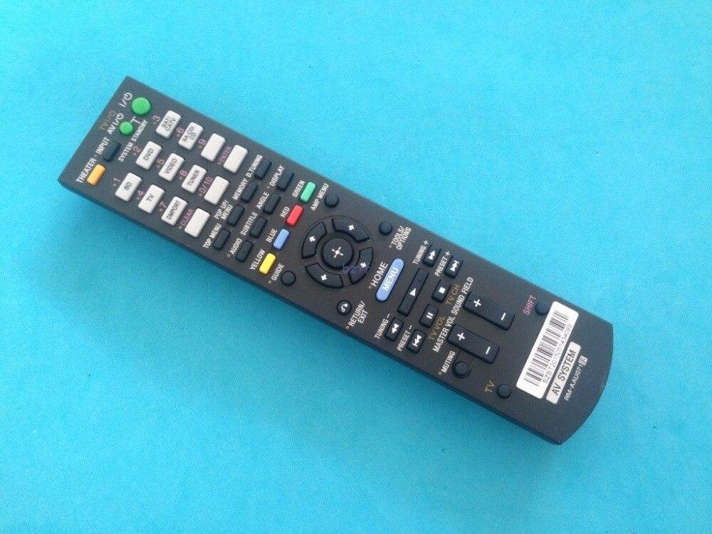 sony str dn860 black New Universal Remote Control For Sony RM-AAU071 HT-SS370 HT-SF470 STR-KS370