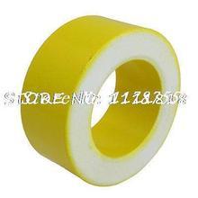 58mm x 35mm x 14mm Inducator Part Yellow White Iron Ferrite Toroid Core