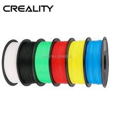 Хорошее качество Ender 1,75 мм PLA нити 6 цветов Высокое качество PLA нити для CREALITY 3d принтер FFF 3d принтер зеленый