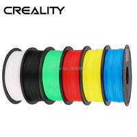Good Quality Ender 1.75mm PLA filament 6 Colors High quality PLA filament For CREALITY 3D Printer FFF 3D Printer Green