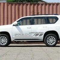 1pair Car Styling Landcruiser Car Sticker Auto Waist Line Decal For Toyota PRADO
