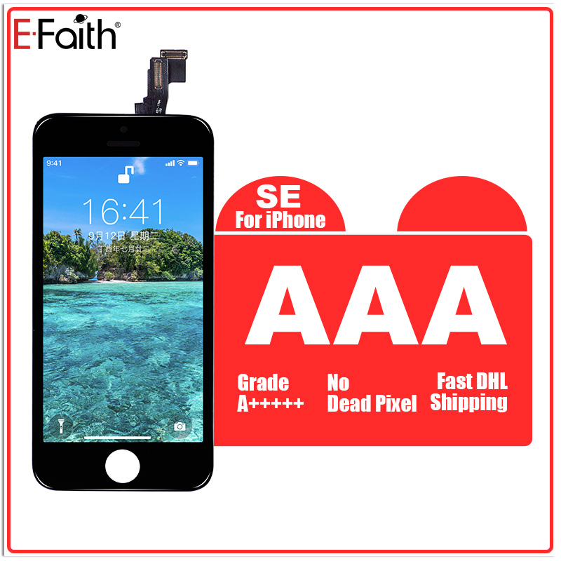 A E Faith 50 pcs lot For iPhone SE Display for iPhone SE LCD With Touch