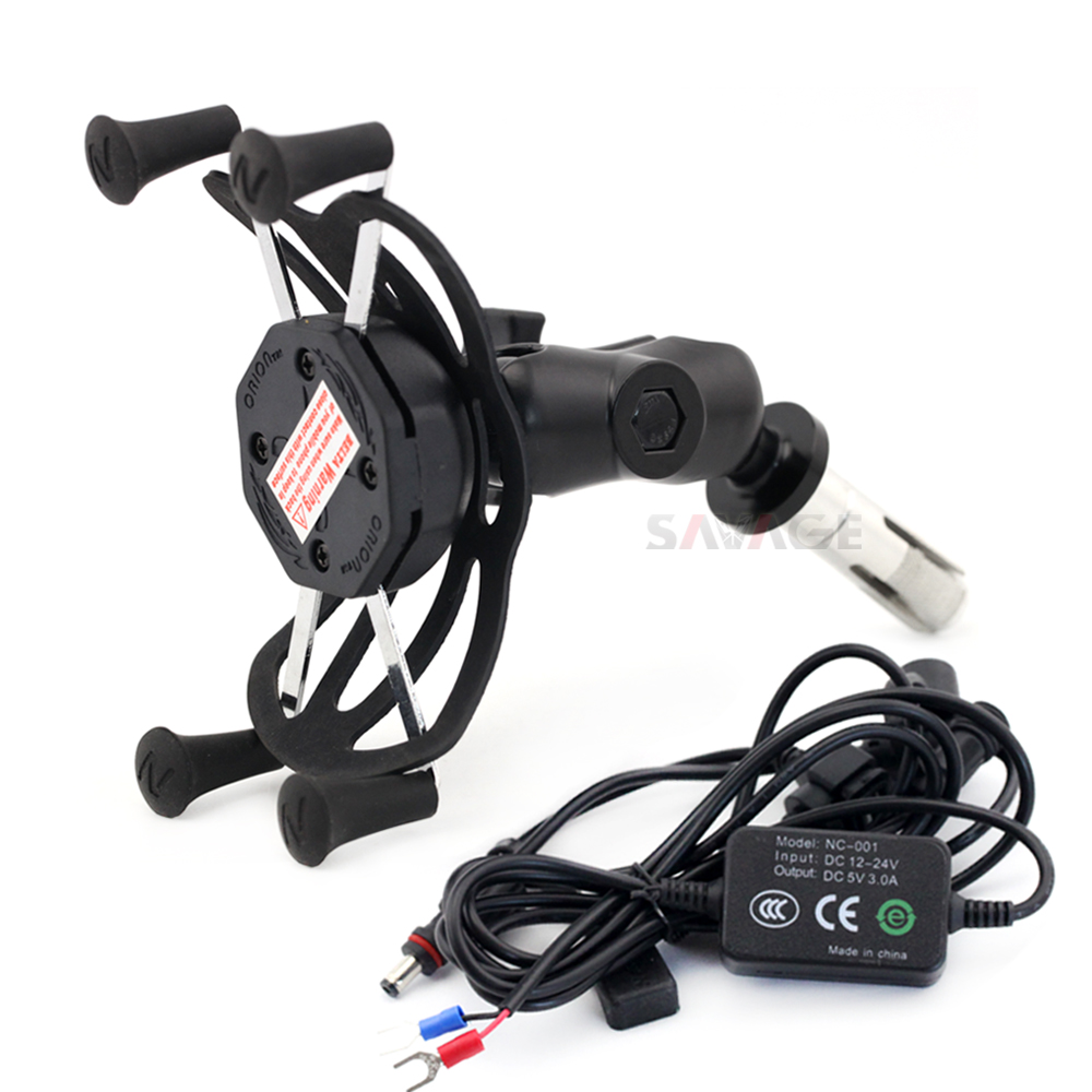 X-Grip Phone Holder USB Charger For SUZUKI GSXR600 GSXR750 GSXR1000 HAYABUSA GSXR 600/750/1000 Motorcycle GPS Navigation BracketX-Grip Phone Holder USB Charger For SUZUKI GSXR600 GSXR750 GSXR1000 HAYABUSA GSXR 600/750/1000 Motorcycle GPS Navigation Bracket