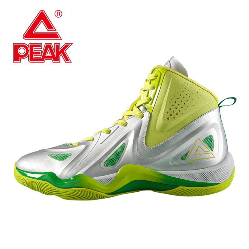 PEAK SPORT Challenger 2.2 Men Basketball Shoes Authentic FOOTHOLD Tech Competitions Sneaker Breathable Athletic Training Boots peak sport monster ii men basketball shoes foothold tech sneakers breathable training athletic durable rubber outsole boots