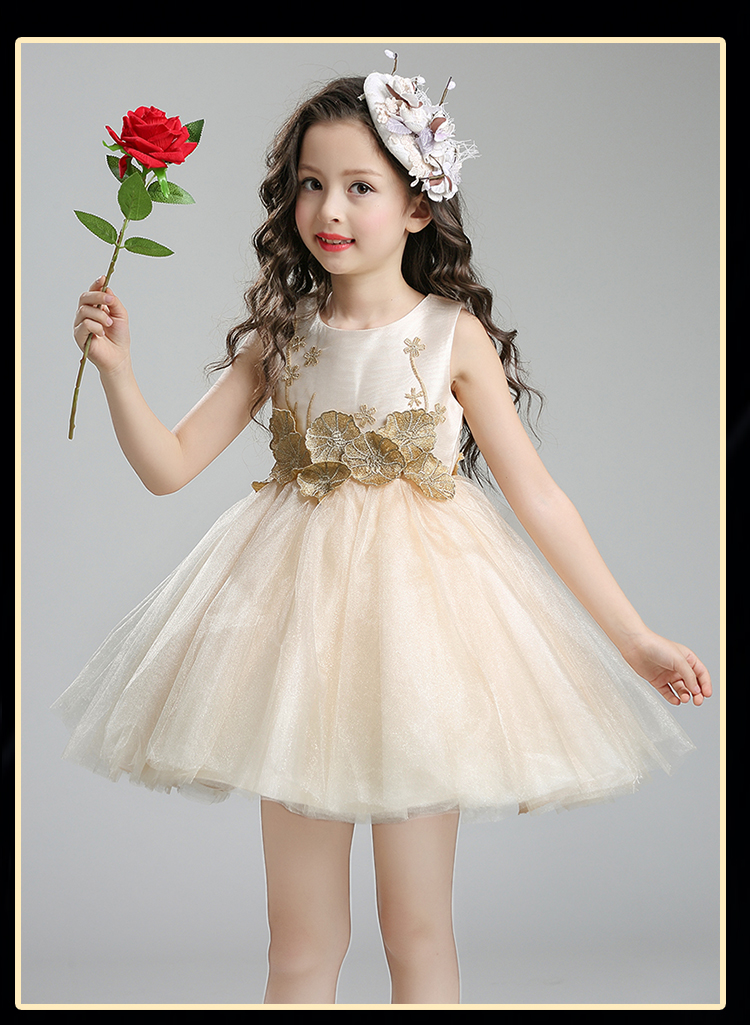 2017 Girls Lace Flower Princess Dress Baby Pink Clothes Bow Frocks Designer Kids Party Prom Dresses Girl Wedding High quality