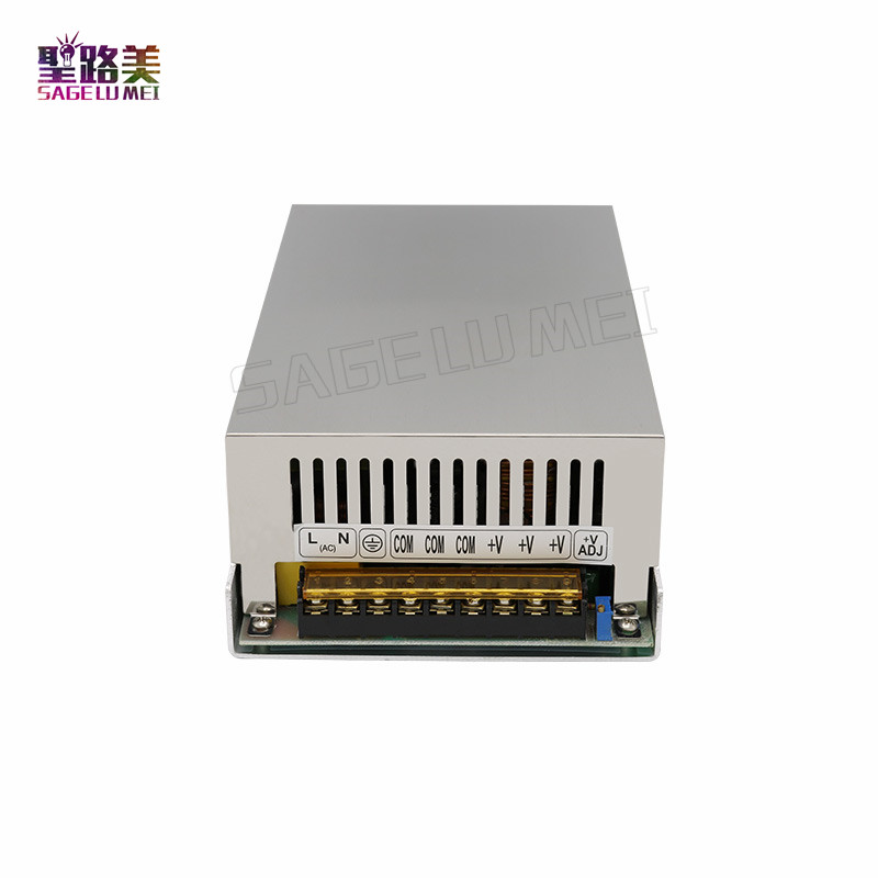 2019 Best quality 720W Switching Power Supply Driver 12V 60A for LED Strip AC 110 240V Input to DC 12V Lighting Transformers     - title=
