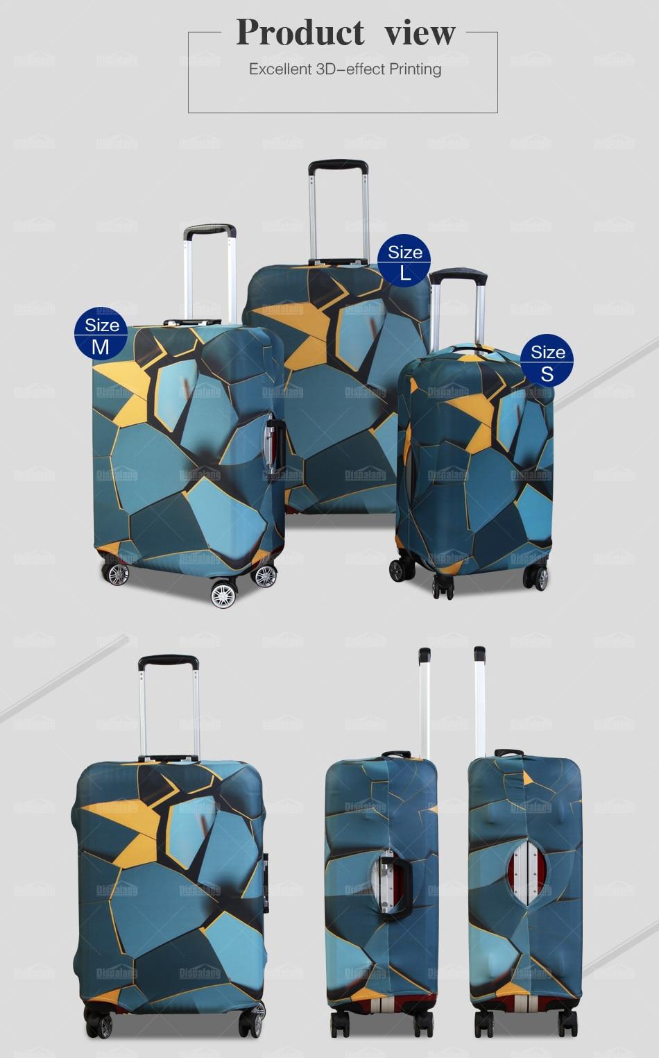 custom luggage cover
