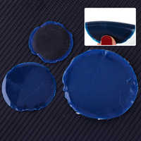 DWCX 45pcs Car Rubber Radial Tire Repair Round Patch Tool Assortment Small Medium Large Fit For VW Ford Audi BMW Toyota Kia