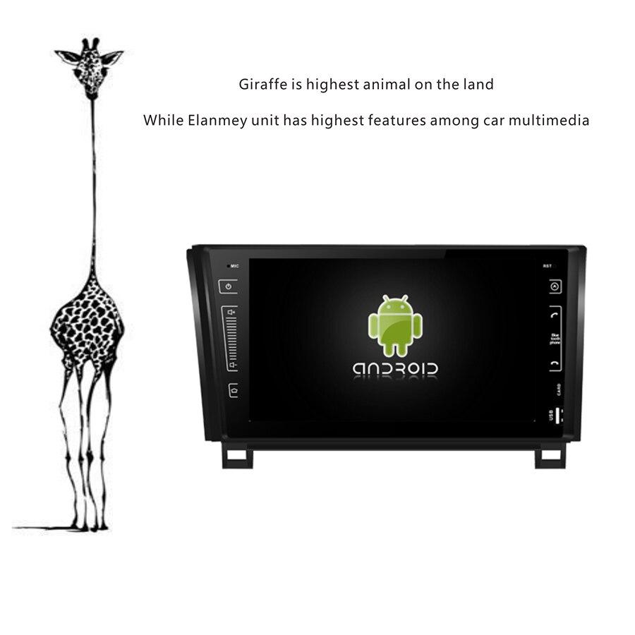 Lecteur de voiture Android 9.0 édition de luxe pour Toyota Tundra Sequoia magnétophone 4G Lite carte sim Bluetooth GPS unité de tête Radio