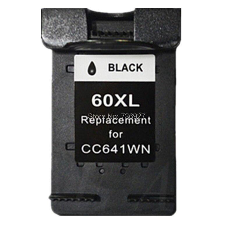 5 Black Remanufactured Ink Cartridge For HP60 HP 60 XL For Deskjet D2563 F4200 F4210 F4235 F4272 F4275 F4283 D2566 printer 2pcs compatible ink cartridge hp121xl hp121 for deskjet f4210 f4213 f4240 f4272 f4275 f4280 f4283 f4288 f4500 f4580 f4583