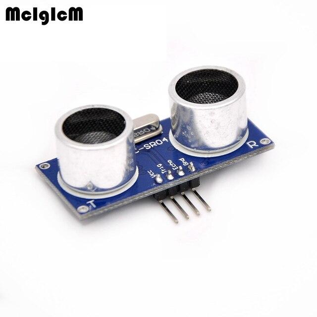 MCIGICM 5pcs Ultrasonic Module HC-SR04 Distance Measuring Transducer Sensor HC SR04 HCSR04 ultrasonic transducer