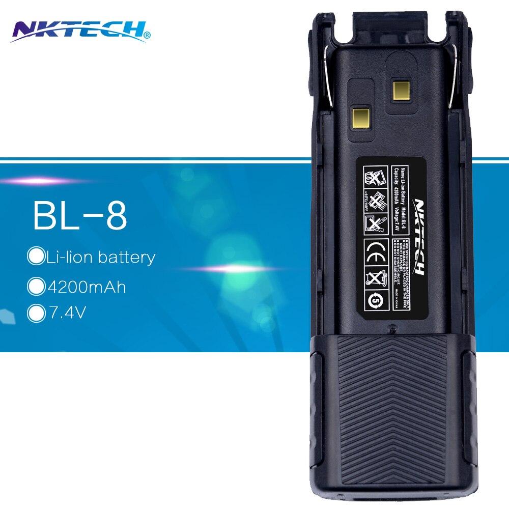 imágenes para Batería 4200 mAh Baofeng Walkie-talkie NKTECH/Pofung UV-82, UV-82C UV-82L, UV-82X, UV-82HP, UV-8D