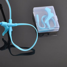 Детские очки, противоскользящий набор, супер мягкий силиконовый ушной крючок, веревка, Criancas de Anti-derrapante Corda Gancho de Orelha DD0829