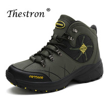 Thestron Spring Men Mountain Trainers Men Hiking Sneakers Boots Anti-Slip Rock Climbing Shoe For Mens Outdoor Large Size Shoes thestron sport shoes quality sneakers mens running shoes sport mens spring anti slip jogging shoe men black lace up trainers men