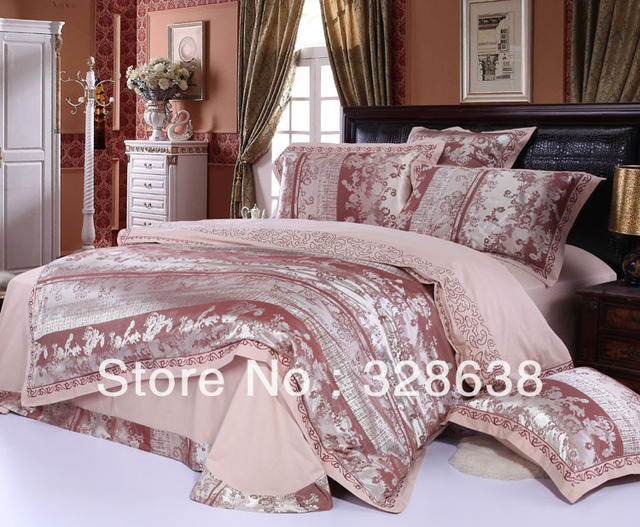Girls colorful tribute/imitated SILK bedroom/bedding/comforter sets ...
