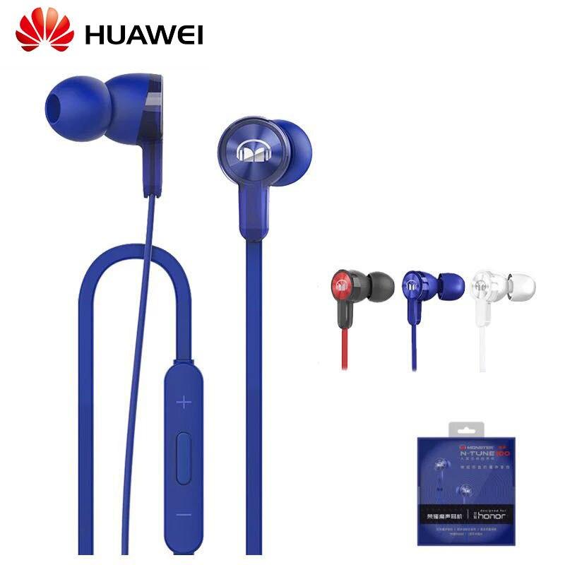 Écouteurs originaux Huawei Honor AM15 avec matériau ABS Microphone micro Piston pour Huawei Honor 9 Mate 8/9 P10 casque