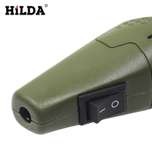 HILDA Mini Electric Drill Accessories Electric Grinding Set 12V DC Grinder Tool for Milling Polishing Drilling Engraving EU Plug