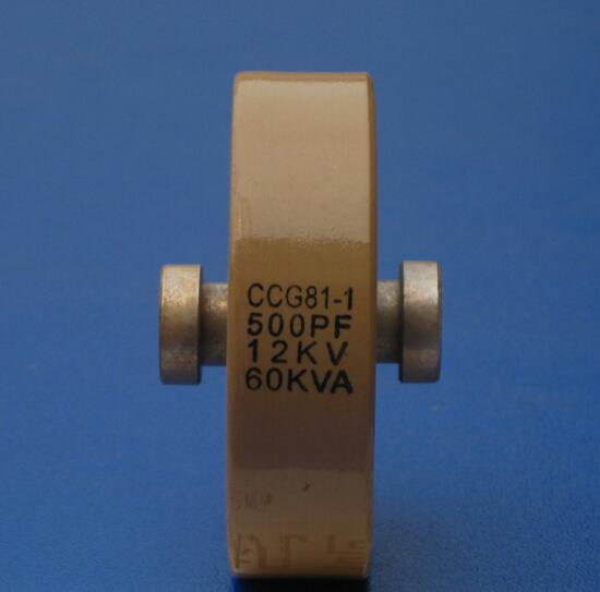 Round ceramics Porcelain high frequency machine new original high voltage CCG81-1 500PF 12KV 60KVA ccg81 1 350pf 15kv 60kva