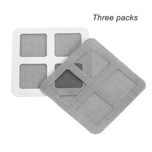 Mosquito-Netting Patch-Repairing Mesh Window-Door On-Screen Summer 3PCS Sticky-Wires
