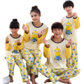 Family matching pajamas Character cute Minions family look mother daughter pajamas father son outfits kids clothes sets pajamas